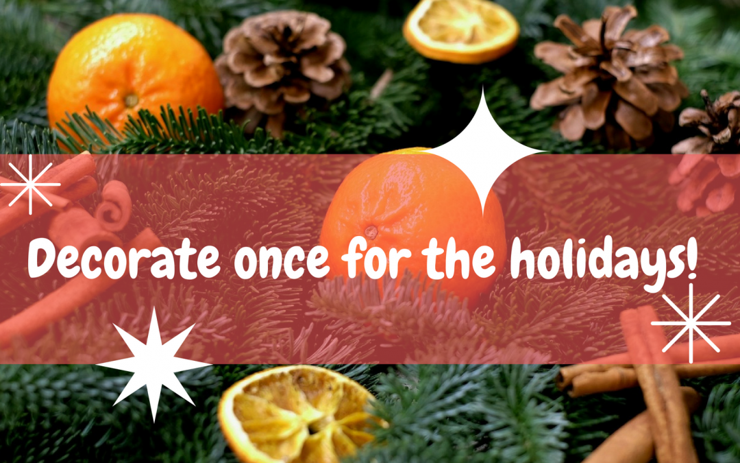 Classically Decorate For the Winter Holidays!